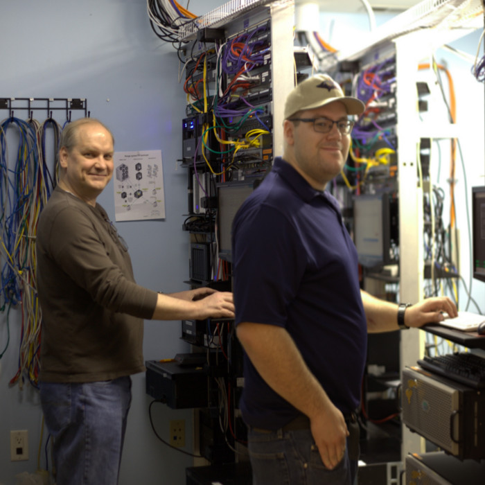 Our IT Team - Mike & Sam